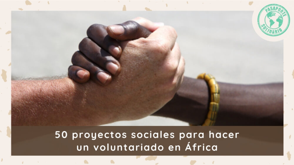 50 proyectos voluntariado