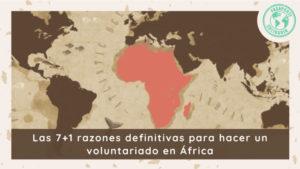 7 razones para hacer un voluntariado
