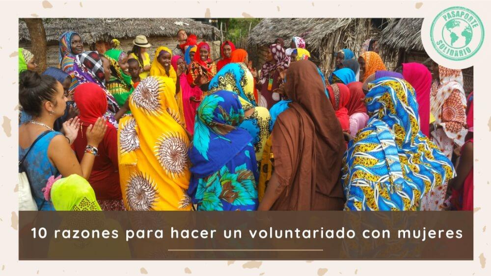 razones voluntariado mujeres