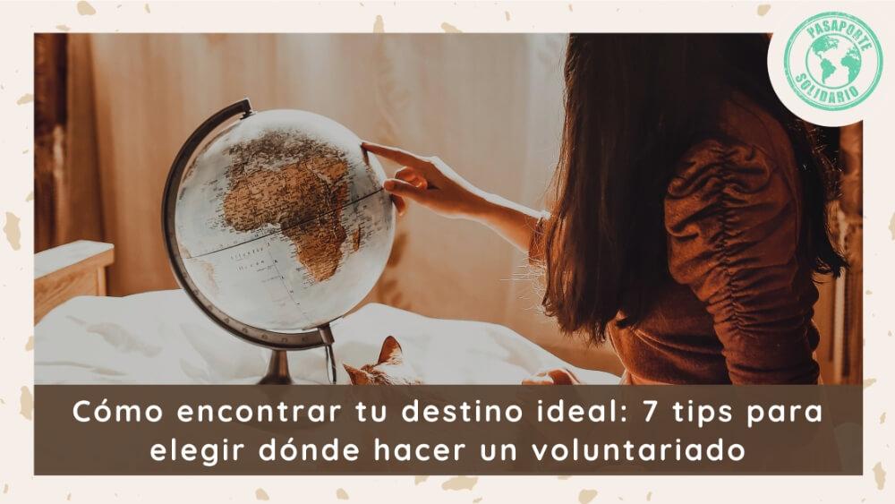 7 tips elegir voluntariado