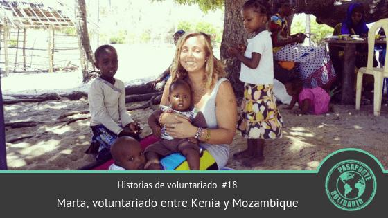 Historias de Voluntariado #18: Marta, voluntariado entre Kenia y Mozambique