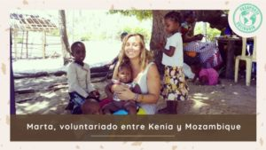 voluntariado Kenia y Mozambique