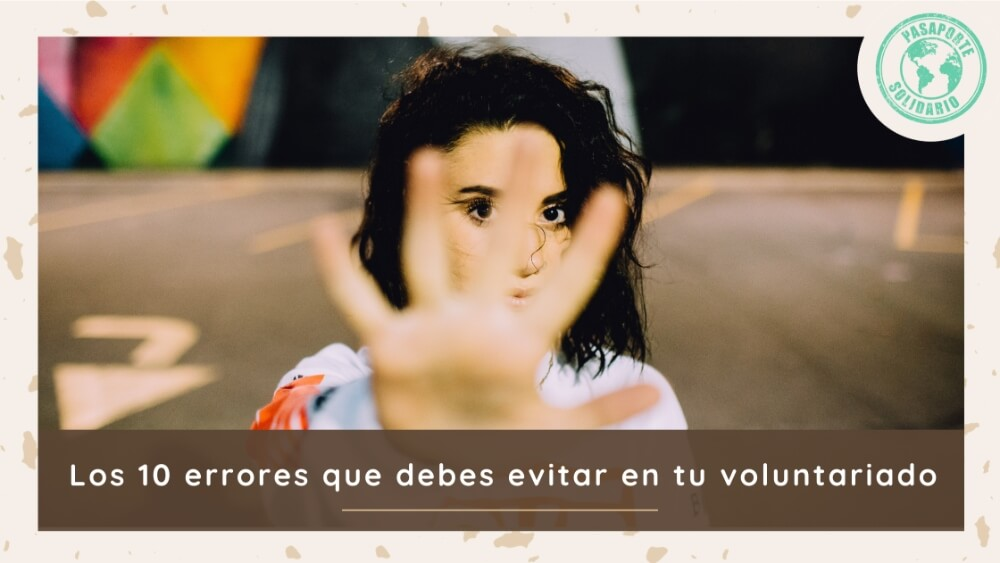10 Errores voluntariado