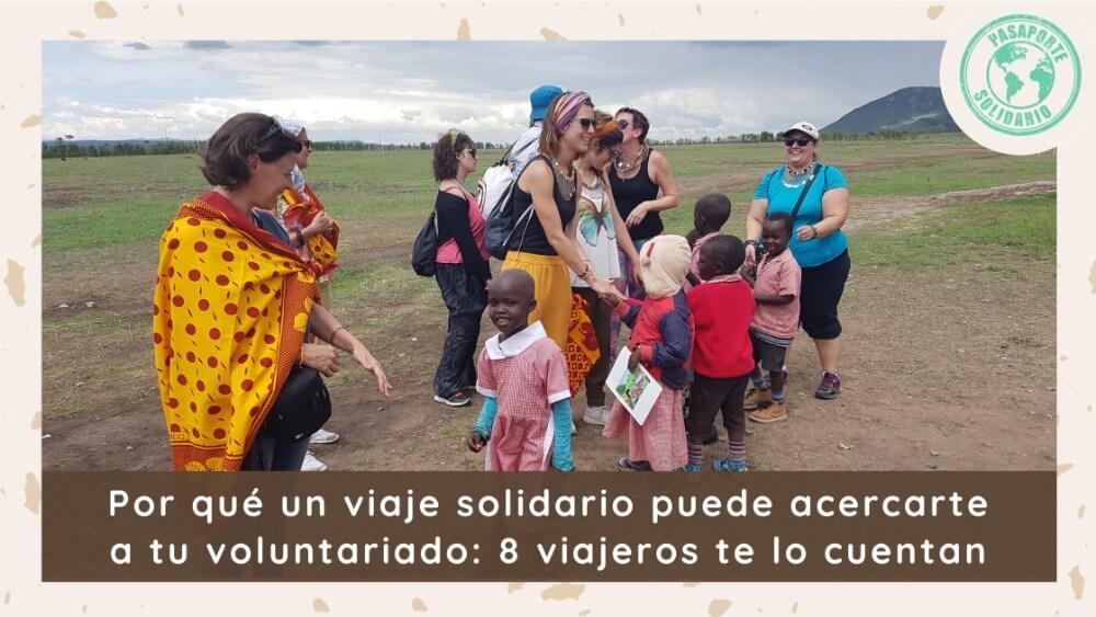 viaje solidario voluntariado