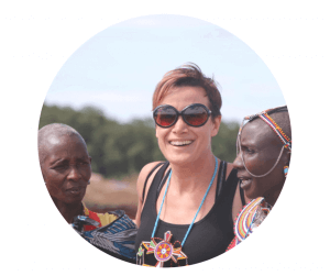 viaje solidario Antonia