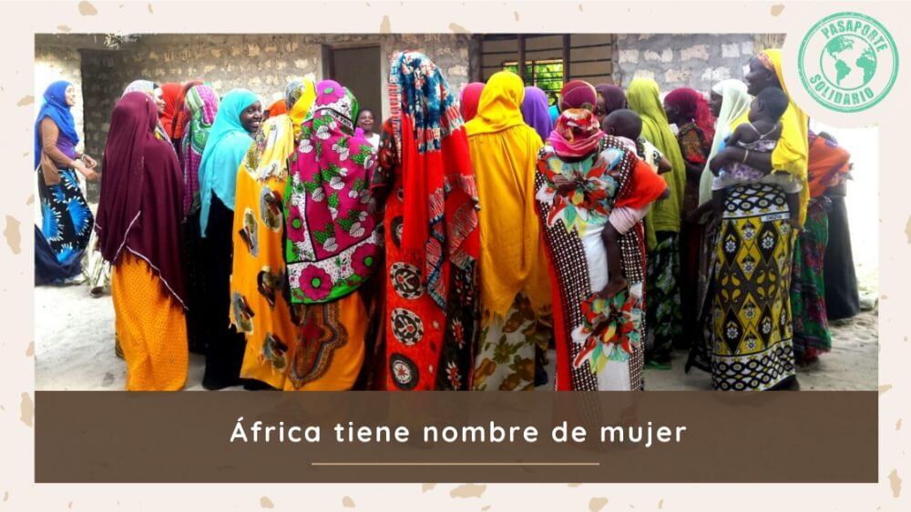 8 de Marzo africa mujer