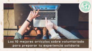 mejores artículos sobre voluntariado